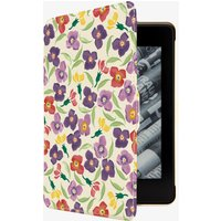 Purple Wallflower Kindle Case