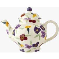Seconds Wallflower 4 Mug Teapot