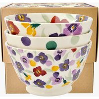 Wallflower Set of 3 Old Bowls Boxed