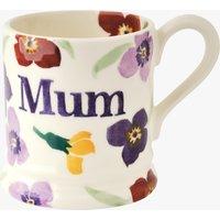 Seconds Wallflower Mum 1/2 Pint Mug