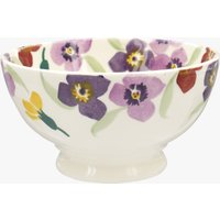 Seconds Wallflower Border French Bowl