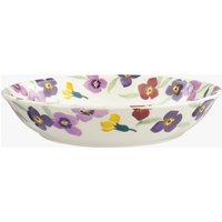 Wallflower Border Medium Pasta Bowl