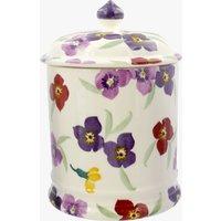 Seconds Wallflower 2 Pint Plain Store Jar