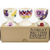 Wallflower Set of 3 Egg Cups Boxed