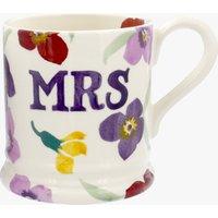 Seconds Wallflower Mrs 1/2 Pint Mug