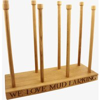 Black Toast Wooden Wellie Boot Stand