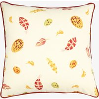 Lion Yellow Egg & Feather Cushion