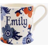 Personalised Anemone 1/2 Pint Mug