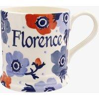 Personalised Anemone 1 Pint Mug