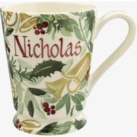 Personalised Bring in the Green Cocoa Mug