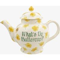 Personalised Buttercup 4 Mug Teapot.