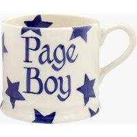 Personalised Blue Star Small Mug.
