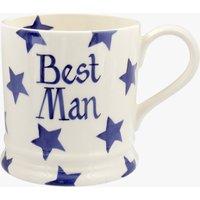 Personalised Blue Star 1 Pint Mug