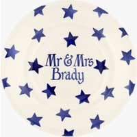 Personalised Blue Star 8 1/2 Plate