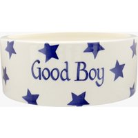 Personalised Blue Star Large Pet Bowl