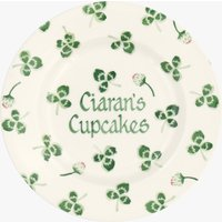 Personalised Clover Flower 8 1/2 Plate