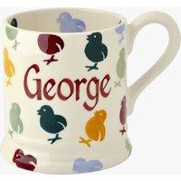 Personalised Easter Chick 1/2 Pint mug