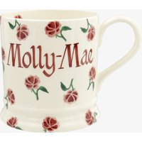 Personalised Little Pink Rose 1 Pint Mug