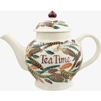 Personalised Pheasant Feathers 4 Mug Teapot