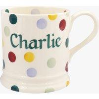 Personalised Polka Dot 1 Pint Mug
