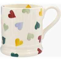 Seconds Polka Hearts 1/2 Pint Mug
