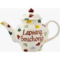 Personalised Polka Hearts 2 Mug Teapot