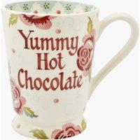Personalised Rose & Bee Cocoa Mug