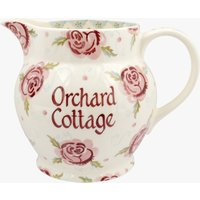 Personalised Rose & Bee 3 Pint Jug
