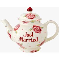Personalised Rose & Bee 4 Mug Teapot