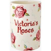 Personalised Rose & Bee Medium Vase