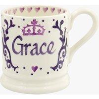 Personalised Royal Baby Purple 1/2 Pint Mug