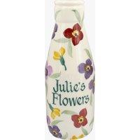 Personalised Wallflower Large Milk Bottle