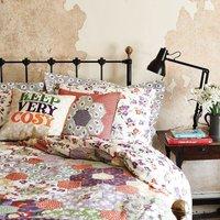 Wallflower Patchwork Single Duvet Set