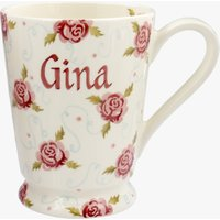Personalised Tiny Scattered Rose Cocoa Mug