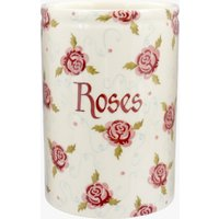 Personalised Tiny Scattered Rose Medium Vase