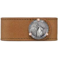 Be Serene Bracelet Fine Silver, Sterling Silver and Rose Gold Prongs - Medium - 18 cm - Tan
