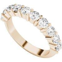Diamond Eternity Ring 9kt Rose Gold - UK W - US 11 1/8 - EU 65