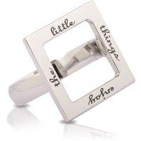 Enjoy the Little Things Ring - UK K - US 5 1/8 - EU 50 - Swiss 10.5