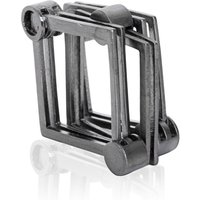 The Steel Square Ring - UK G - US 3 3/8 - EU 45 1/4
