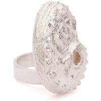 Sterling Silver Oceania Abalone Ring - UK D - US 2 - EU 41 1/2
