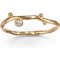 Gold & Diamond Seafire Ring | Bergsoe - UK V - US 10 5/8 - EU 63