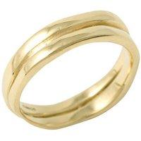 Ring II Plain or with 12 Diamonds - UK N - US 6 1/2 - EU 54