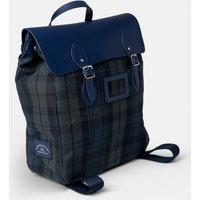Cambridge Satchel The Steamer Backpack - Navy & Black Watch Tartan