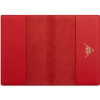 Cambridge Satchel Year of the Ox Exclusive: Passport Cover in Leather - Red Grain