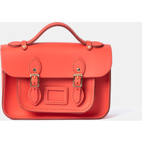Cambridge Satchel Magnetic Mini Satchel in Leather - Chilli Jam Matte
