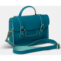 The Cambridge Satchel Co. Womens Blue Leather Bag