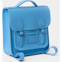 Cambridge Satchel The Small Portrait Backpack - Sky Blue Matte
