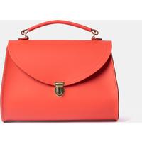 Cambridge Satchel Poppy Bag in Leather - Chilli Jam Matte