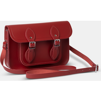 The Cambridge Satchel Co. Womens Red Leather Satchel
