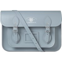 Cambridge Satchel University of Cambridge 13 Inch Magnetic Satchel in Leather - French Grey